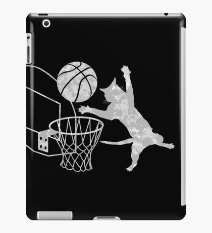 Slam Puss (Grey) iPad Case/Skin
