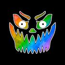 So Fierce! Pride Jack-o-Lantern by technoqueer