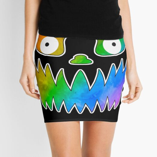 So Fierce! Pride Jack-o-Lantern Mini Skirt