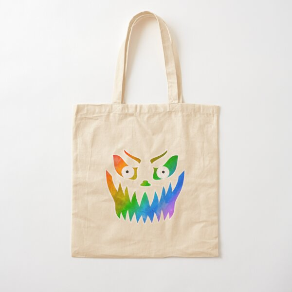 So Fierce! Pride Jack-o-Lantern Cotton Tote Bag