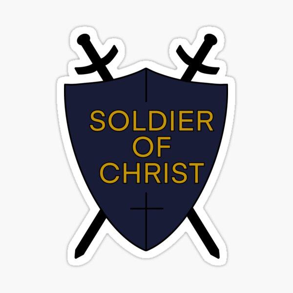 Soldier of Christ Sticker