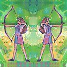 Archer painting - 2019 by Gwenn Seemel