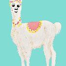 Rufus the Solo Alpaca by ec-art