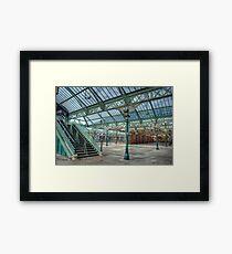 Tynemouth Metro Station Framed Print