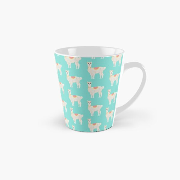 Rufus the Alpaca in a Herd Tall Mug