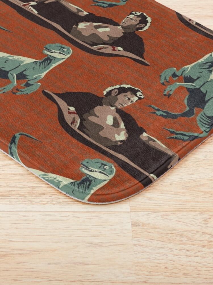 Alternate view of Jurassic Geniuses  Bath Mat