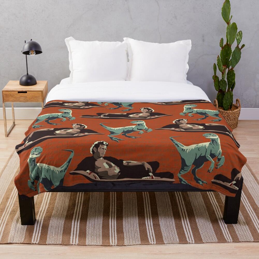 Jurassic Geniuses  Throw Blanket