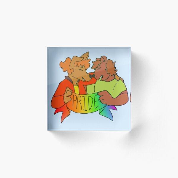 Pride Acrylic Block