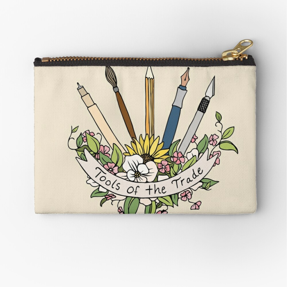 Tools of the Trade Zipper Pouch