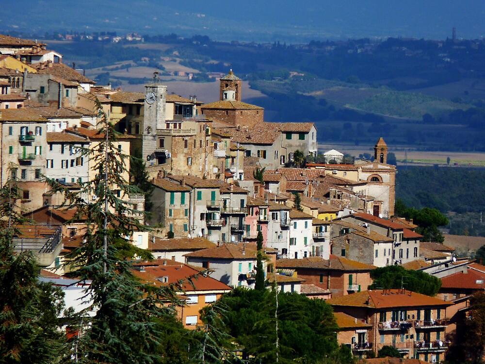 Chianciano, Italy by artfulvistas
