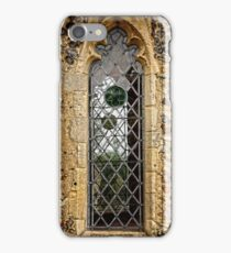 Leaded window (Barsham Church) iPhone Case/Skin
