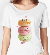 Funny Macarons Women's Relaxed Fit T-Shirt