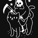 Death Rides A Black Cat by obinsun