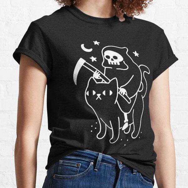 Death Rides A Black Cat Classic T-Shirt