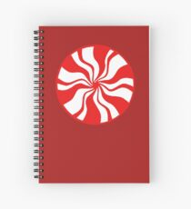 White Stripes Spiral Notebook