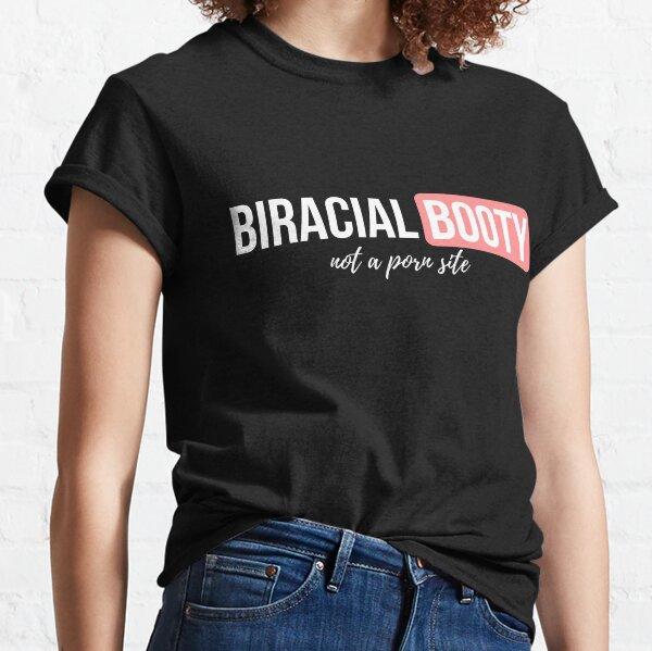 White Biracial Booty Classic T-Shirt