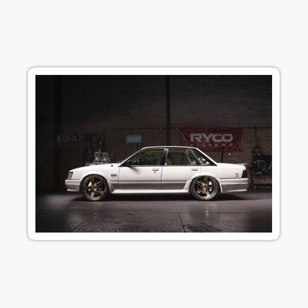White Holden VK Commodore Sticker