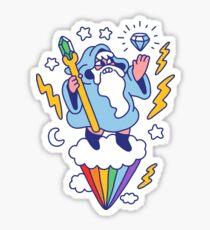 Wizard In The Sky Sticker