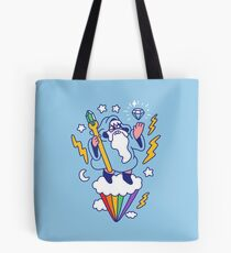 Wizard In The Sky Tote Bag