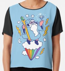 Wizard In The Sky Chiffon Top