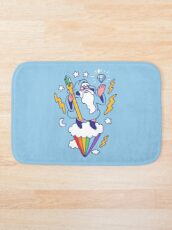 Wizard In The Sky Bath Mat
