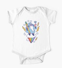 Wizard In The Sky Short Sleeve Baby One-Piece