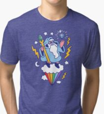 Wizard In The Sky Tri-blend T-Shirt