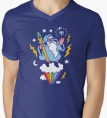 Wizard In The Sky V-Neck T-Shirt