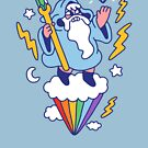 Wizard In The Sky by obinsun