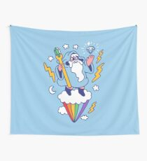 Wizard In The Sky Wall Tapestry