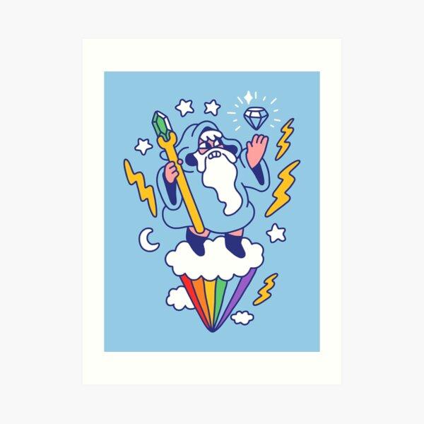 Wizard In The Sky Art Print