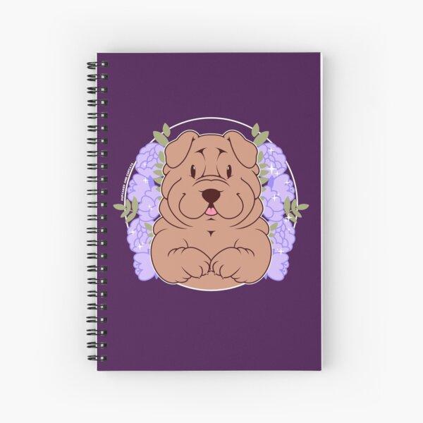 Furrow the Shar Pei Spiral Notebook