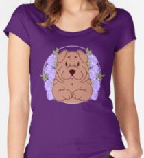 Furrow the Shar Pei Fitted Scoop T-Shirt