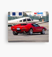 Twin Turbo Canvas Print