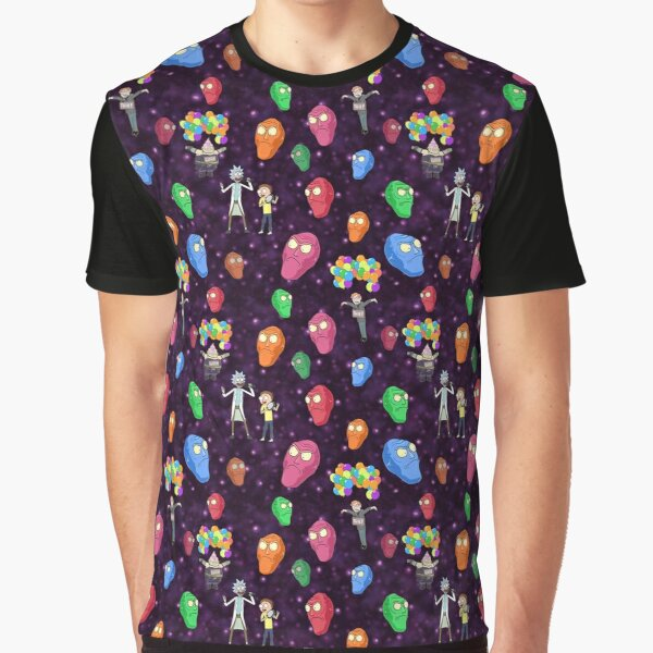 Get Schwifty Pattern Graphic T-Shirt