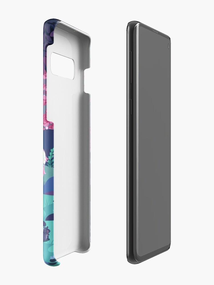 Alternate view of My World Case & Skin for Samsung Galaxy