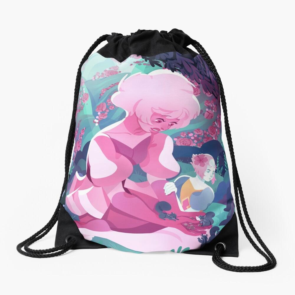 My World Drawstring Bag