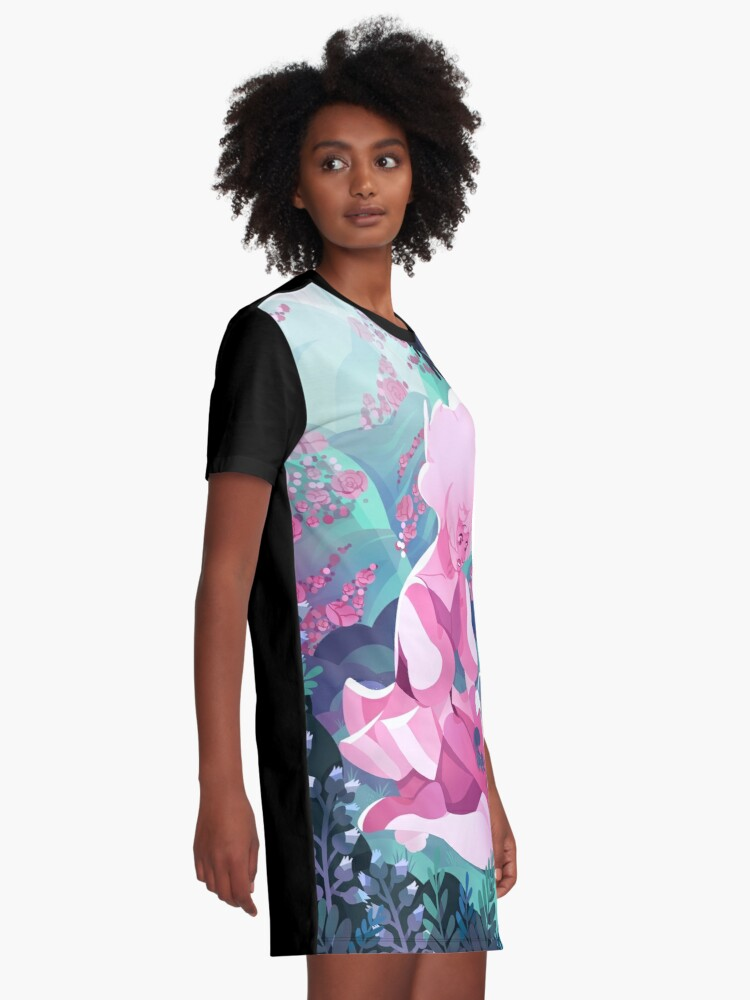 Alternate view of My World Graphic T-Shirt Dress