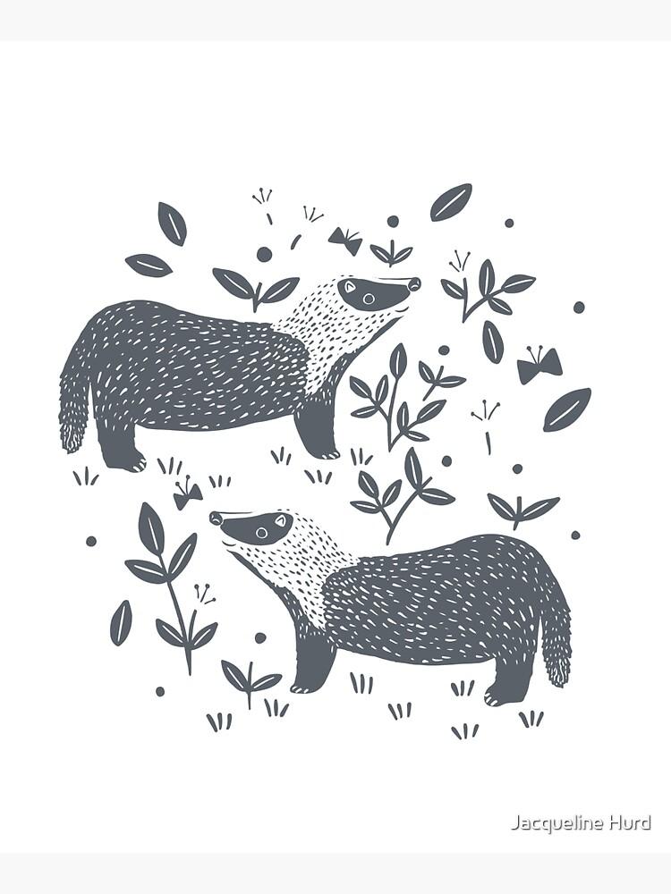 Badgers by JMHurd