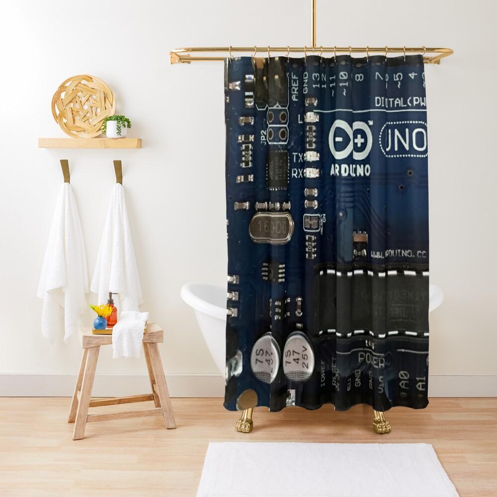 Get Your Arduino Geek On! Shower Curtain