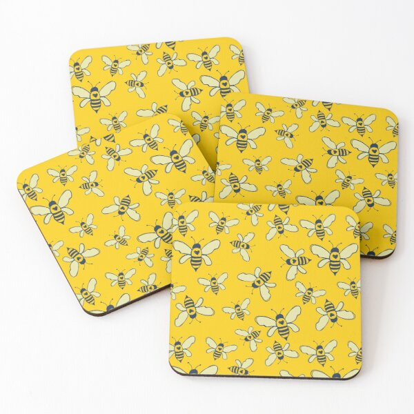 Honey Makers Coasters (Set of 4)