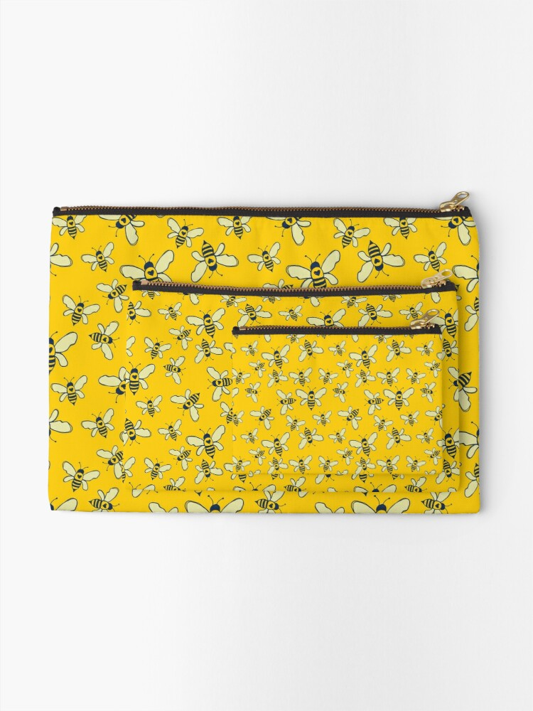 Alternate view of Honey Makers Zipper Pouch