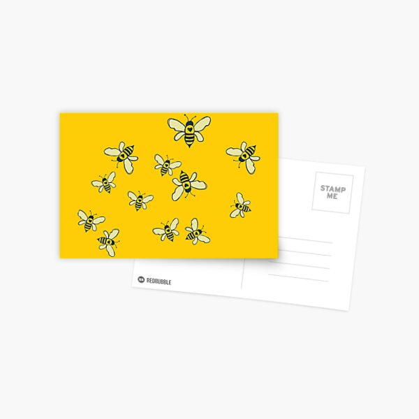 Honey Makers Postcard