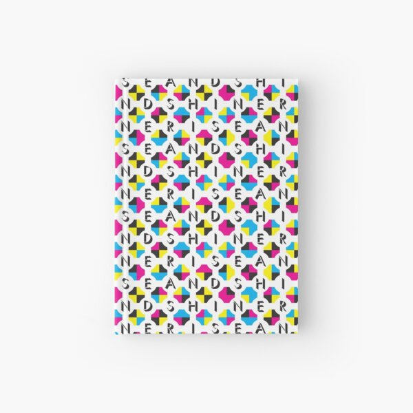Rise And Shine: CMYK pattern Hardcover Journal