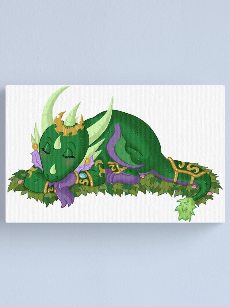 Alternate view of Emerald Dreams Canvas Print
