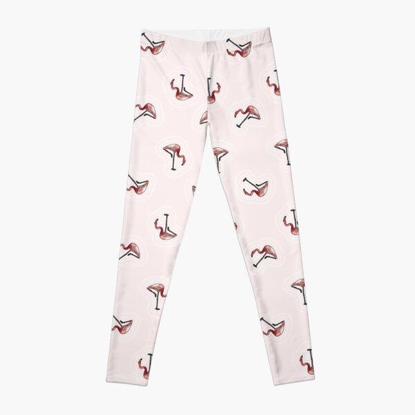 Pink Flamingos Leggings