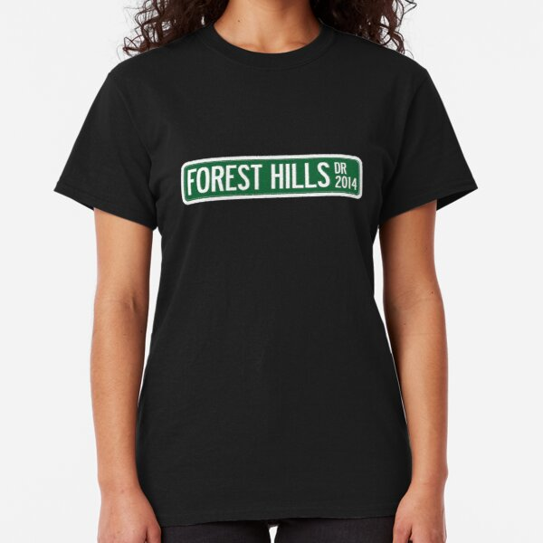 J. Cole - 2014 Forest Hills Drive Dr V2 Classic T-Shirt