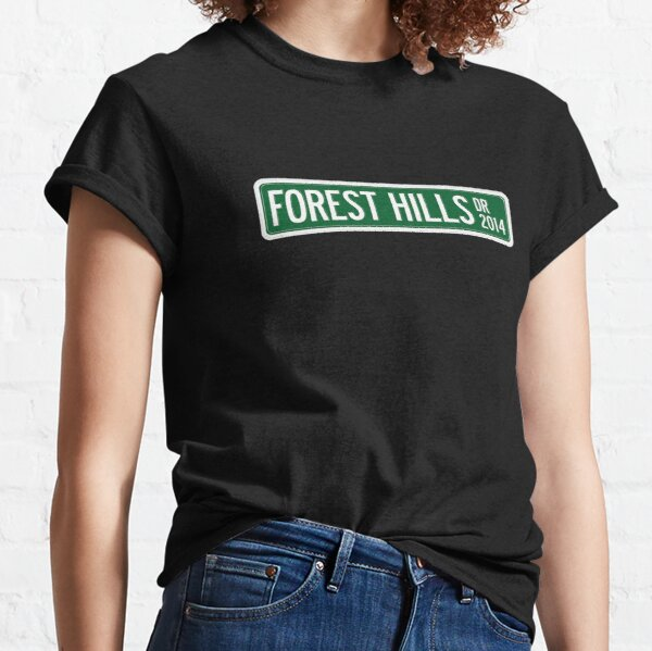 J. Cole - 2014 Forest Hills Drive Dr V2 Classic T-Shirt