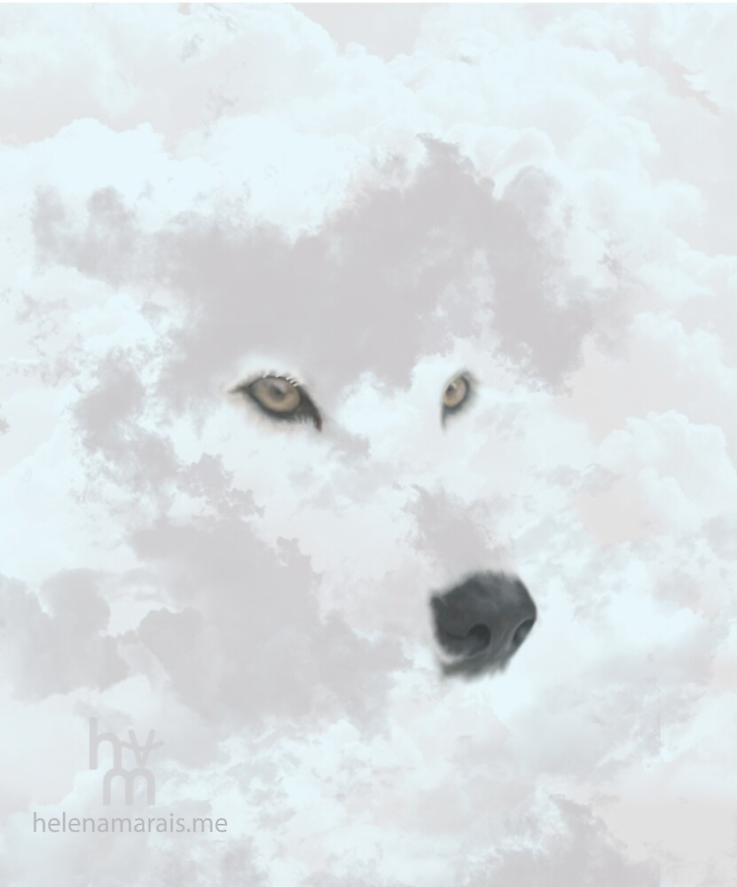 Spirit Wolf by helenamarais-me