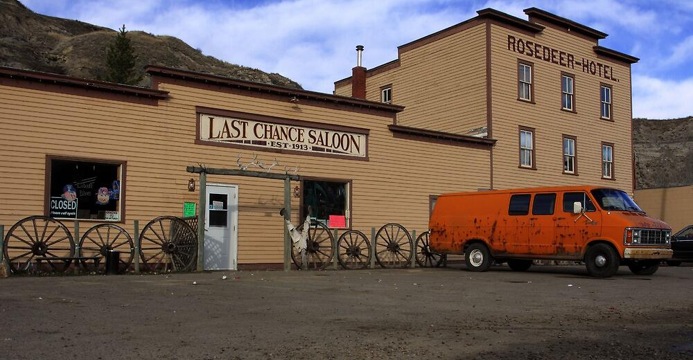 Quot Last Chance Saloon At Wayne Alberta Quot By Michael Collier